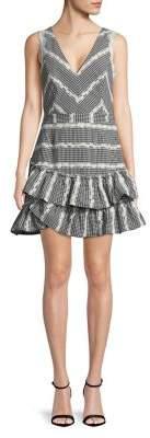 Adelyn Rae Tiered Ruffle Dress
