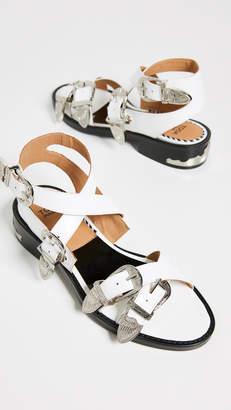 1759ec678b4 Toga Pulla Buckle Strap Sandals