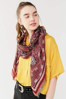 Urban Outfitters Jacquard Square Scarf