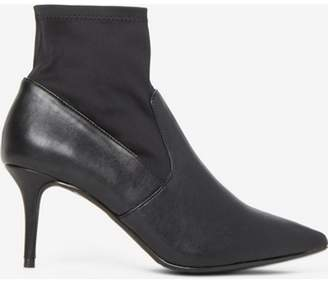 Dorothy Perkins Womens Wide Fit Black 'Motion' Ankle Boots