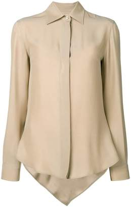 Moschino asymmetrical formal shirt
