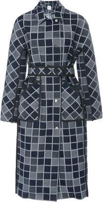 Rosetta Getty Gusset Pane Cotton Coat