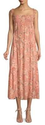 Love Sam Jeanie Floral Maxi Dress