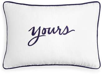"Kate Spade Yours Decorative Pillow, 12"" x 18"""