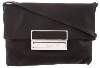 Calvin Klein Collection Leather Mini Crossbody Bag