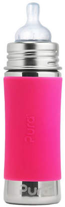 PURA STAINLESS Stainless Steel Pink Infant Feeding Bottle