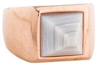 Eddie Borgo Agate Pyramid Ring