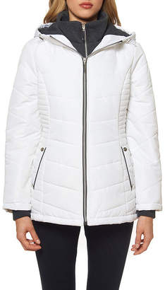Details Woven Hooded Heavyweight Puffer Jacket