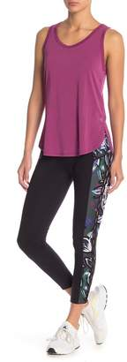 Betsey Johnson Printed Side Panel Stretch Leggings
