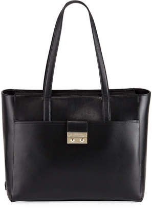 Cole Haan Lock Leather Tote Bag