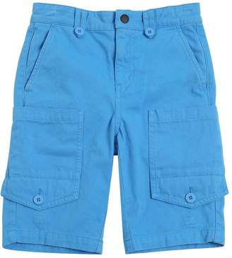 Stella McCartney Cotton Gabardine Cargo Shorts