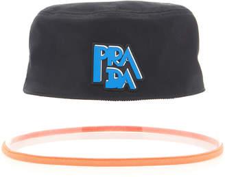 Prada Popeline Bucket Hat