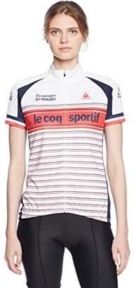 Le Coq Sportif (ル コック スポルティフ) - (ルコックスポルティフ) le coq sportif サイクリング 半袖シャツ QC-745361 [レディース] WHT L