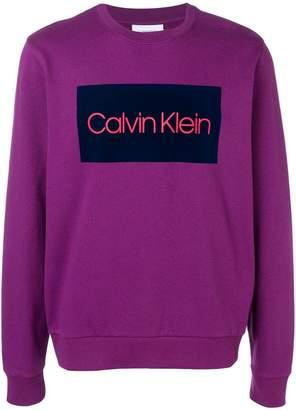 Calvin Klein classic logo sweatshirt