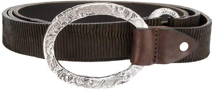 Eleventy ribbed belt