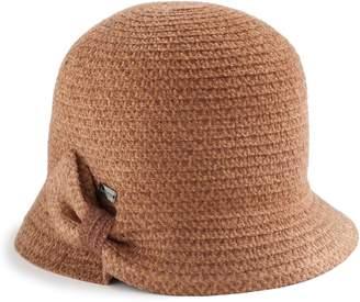 Betmar Women's Emilia Braided Cloche Hat