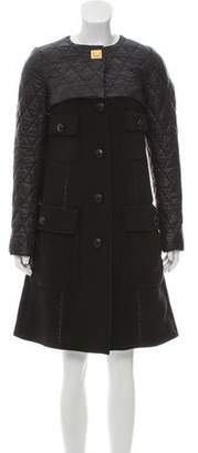 Louis Vuitton Quilted Knee-Length Coat