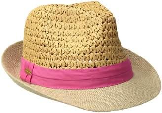 Steve Madden Two Weave Banded Fedora Fedora Hats