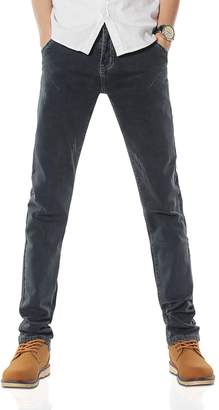Demon&Hunter 808B Series Men's Skinny Fit Slim Jeans DH8083