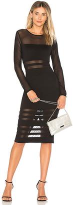by the way. Magdalena Mesh Midi Dress
