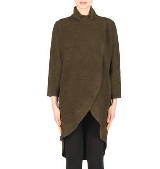 Joseph Ribkoff Knit Cowl Neckline Tunic Style 183322