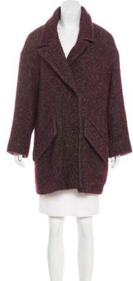 Etoile Isabel Marant Short Wool-Blend Coat