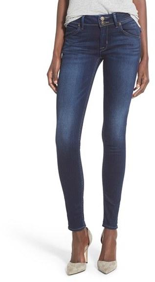 Women's Hudson Jeans 'Elysian - Collin' Mid Rise Skinny Jeans