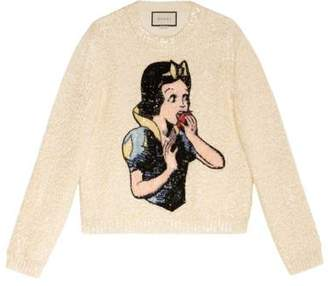 Gucci Snow White sweater with sequins