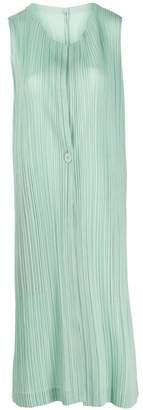 Pleats Please Issey Miyake layered pleated dress