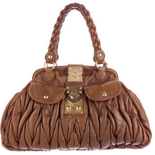 Miu MiuMiu Miu Matelassé Shoulder Bag