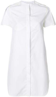 Courreges poplin shirt dress