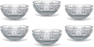 Baccarat Arabesque Crystal Dessert Bowls (Set of 6)