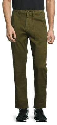 Earnest Sewn Solid Cotton Pants