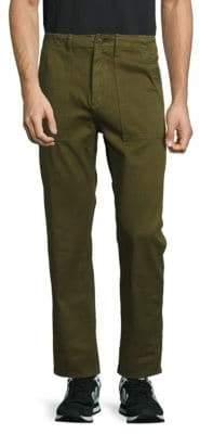 Earnest Sewn Solid Cotton Pants