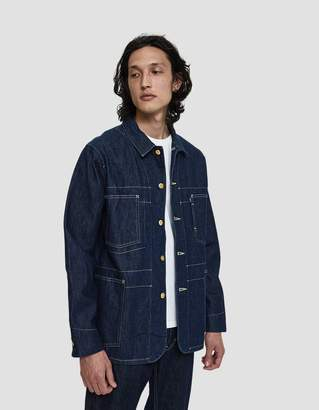 Levi's Poggy Sack Denim Coat