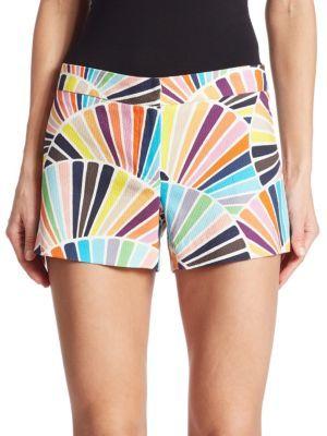 Trina Turk Corbin 2 Printed Shorts $198 thestylecure.com
