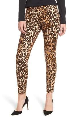 Seven7 Leopard Print Ankle Skinny Jeans
