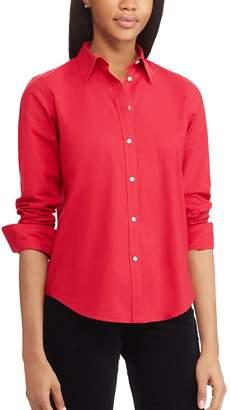 Chaps Women's No-Iron Broadcloth Shirt