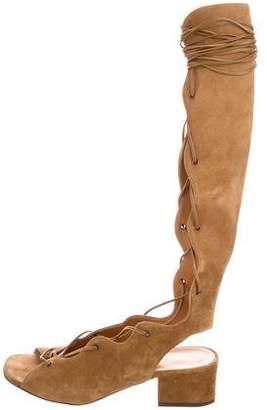 Saint Laurent Babies Ghilly Sandals