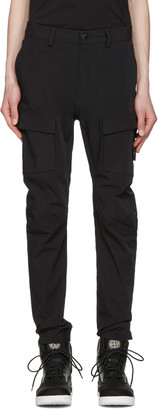 Stone Island Black Cargo Pants $375 thestylecure.com