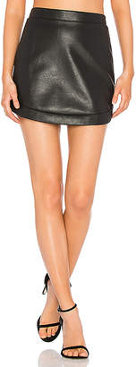 BCBGMAXAZRIA Kanya Skirt in Black $138 thestylecure.com