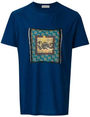 Etro Indian elephant patch T-shirt