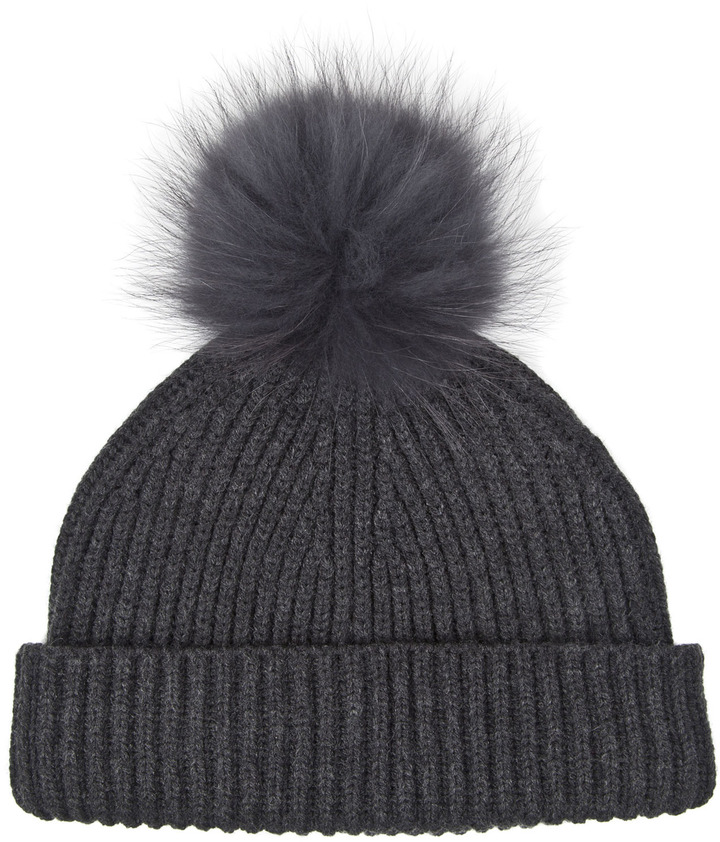 Marc Jacobs Fur Pom Hat