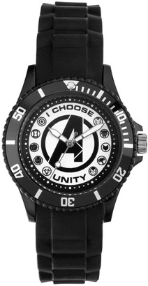 "Marvel Avengers Logo ""I Choose Unity"" Men's Watch"