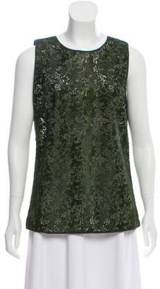 Maiyet Perforated Ponyhair Top