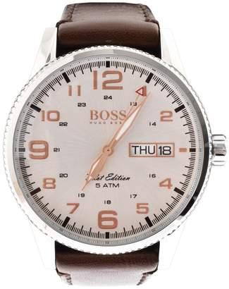 HUGO BOSS 1513333 Pilot Vintage Watch Brown