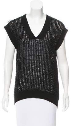 Hermes Open Knit Silk Sweater