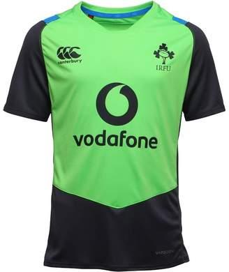 Canterbury of New Zealand Boys Ireland Rugby VapoDri Superlight Poly Training Top Jasmine Green