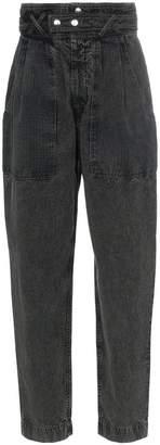 Isabel Marant corduroy Turner high-waist trousers
