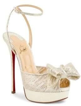 Christian Louboutin Artydiva Platform Ankle-Strap Sandals